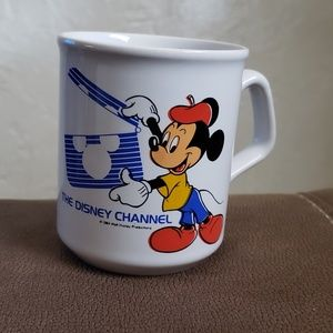 Other - 1984  Disney  channel Mickey Mouse mug